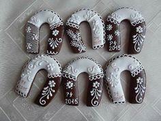 Podkovičky Sugar Cookies, Desserts, Food, Decorated Cookies, Tailgate Desserts, Deserts, Essen, Postres, Meals