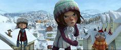 'Snowtime', na trama as crianças de um vilarejo de Quebec decidem realizar uma grande batalha..