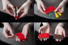 Elastic Wallet for women credit card holder men by ElephantWallet