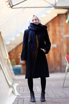 Our lovely Communications Manager, Sari on Reykjavik Street Style.