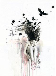 Lora Zombie - love her art!