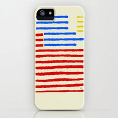 the banner stripe iPhone & iPod Case by bri.buckley - $35.00