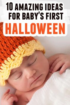 Baby's First Halloween tips and ideas to make the holiday special and stress-free for you and your baby! Baby Halloween costumes, tips for trick or treating, baby's first Halloween photo ideas, and much more! #halloween #baby #babysfirsthalloween #babybooks #holidays #fall Halloween Tips, First Halloween Costumes, Halloween Pajamas, Baby First Halloween, Halloween Photos, Halloween Party, Stress Free, Trick Or Treat, Baby Baby