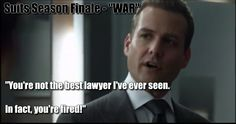 "Preview of ""WAR"" - Harvey fires Mike ... #suitsfinale #suits suits_usa Suits USA suits #gabrielmacht #harveyspecter Best Tv Shows, Favorite Tv Shows, Donna Paulsen, Suits Harvey, Suits Quotes, Sarah Rafferty, Gina Torres, Suits Usa, Gabriel Macht"