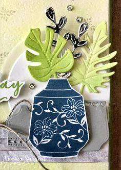 Granny Apple Green Boho Indigo Stampin Up card, Andrea Sargent, Independent Stampin' Up! Demonstrator, Coromandel Valley, Australia