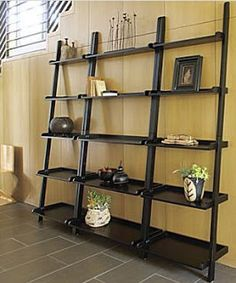 Dead Ringer: Pottery Barn Studio Wall Shelf & JCPenney Aubrey Leaning Shelf - The Thrifty Abode