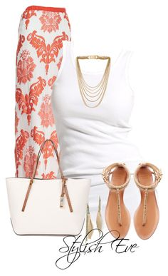 """""""aml"""" by stylisheve ❤ liked on Polyvore featuring Alexis, Soaked in Luxury, Michael Kors, Zara, Carole, women's clothing, women, female, woman and misses"""