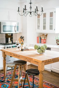 rustic metal bar stools
