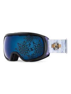 roxy, Rockferry - Masque de snowboard, Egret-6 (wbs6)