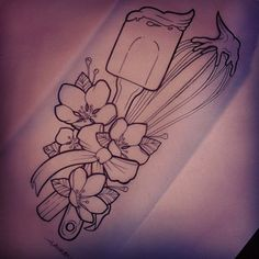 Get inspired with a photo selection of chefs tattoos and go running to make your tattoo artist! If you are a cook or baker, you will love the ideas. Food Tattoos, New Tattoos, Body Art Tattoos, Tattoo Drawings, Sleeve Tattoos, Tatoos, Baker Tattoo, Chef Tattoo, Pastry Tattoo
