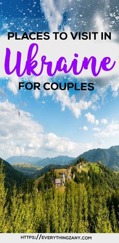 Top 5 Most Romantic Places To Visit in Ukraine Europe Destinations, Europe Travel Guide, Asia Travel, Travel Guides, Most Romantic Places, Romantic Vacations, Romantic Travel, Romantic Escapes, Travel Couple