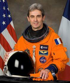 Official Astronaut portrait with rescue Orange space suit