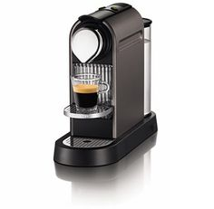 Nespresso CitiZ Titan | A union of high technology and retro-modern design, the compact dimension of the CitiZ fits perfectly into all environments.