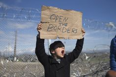 IDOMENI, Greece (AP) — Macedonia reopened its border to Iraqi and Syrian asylum-seekers on Saturday, hours after migrants protested peacefully on the Greek side of the border, demanding admission into Macedonia. Haider Sahd, a U.N.…