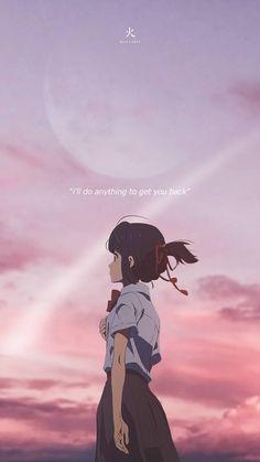 Your Name Wallpaper, Anime Wallpaper Live, Anime Scenery Wallpaper, Cool Anime Pictures, Cute Anime Profile Pictures, Kimi No Na Wa Wallpaper, Your Name Anime, Anime Character Drawing, Manga Anime Girl