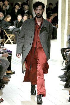 Yohji Yamamoto Fall 2012 Menswear