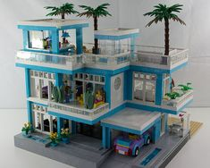 LEGO Beach House - Street Side By Fuzzy Thoughts