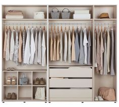 Buy Hygena Atlas Double Internal 3 Drawer Chest - Cream at Argos.co.uk, visit Argos.co.uk to shop online for Sliding wardrobe interiors, Sliding wardrobes, Bedroom furniture, Home and garden