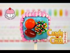 ▶ Make Candy Crush Cake Pops - WARNING - HIGHLY ADDICTIVE!! A Cupcake Addiction How To Tutorial - YouTube