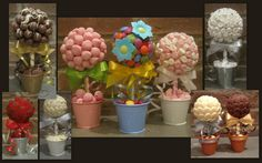 SWEET TREE KITS-MINIS (5 KITS).Create your own delicious,unique wedding favours.