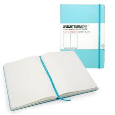 Leuchtturm Large Hard Cover Plain Notebook (5.75 x 8.25) | Vickerey