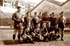 Equipos de fútbol: BARCELONA contra Real Sociedad 12/02/1950