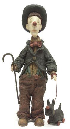 Vladimir Gvozdev, also well known as Gvozdariki is a painter and doll sculptor, born in 1966 Moscow – Russia. http://gvozdariki.ru/gvzd/dolls/2007/kloun.JPG