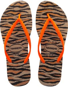 d493f51d9 Havaianas Slim Animals Fluo Rose Gold Flip Flop at Flopstore.my Comes with  soft soles