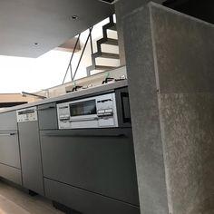画像に含まれている可能性があるもの:室内 Japanese House, Washing Machine, House Plans, Home Appliances, Kitchen, Instagram, Home Decor, Yellow, House Appliances