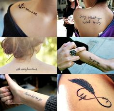 Small Meaningful Tattoos for Women | small meaningful tattoos for women - Google Search