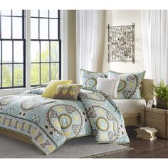 Madison Park Bali 6-piece Duvet Cover Set - Overstock™ Shopping - Great Deals on Madison Park Duvet Covers