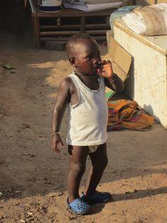 Kleine visserman in #tanji #Gambia