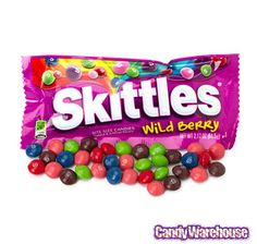 Skittles Candy Packs - Wild Berry: 36-Piece Box