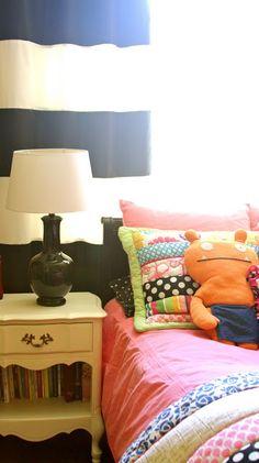 Modern tween room makeover