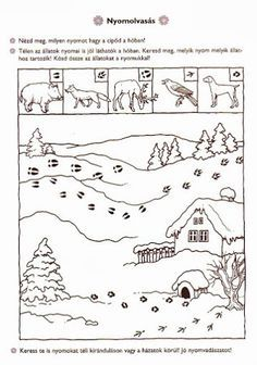 Preschool Coloring Pages, Preschool Worksheets, Coloring For Kids, Preschool Activities, Animal Activities For Kids, Winter Activities, Thema Winter Im Kindergarten, Feeding Birds In Winter, Bears Preschool