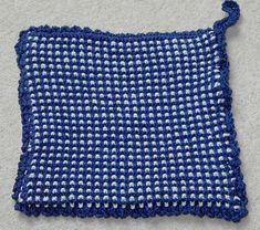 Gammeldagse strikkede grytekluter | Lena's Knits and Pieces