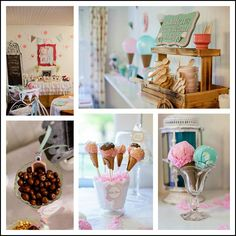 ice Cream Buffet