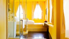 Wanderlust is a boutique hotel that amazes its guests with dazzling hotel room interior. It is located in the heart of little India, Singapore. www.mydesignnotebook.co.uk