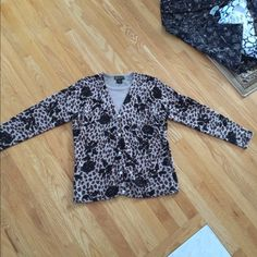 Selling this Beautiful soft brown cheetah rose sweater in my Poshmark closet! My username is: danielleleahw. #shopmycloset #poshmark #fashion #shopping #style #forsale #inknit #Sweaters