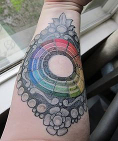 omg can you imagine getting the colors in the color wheel exact ... pshhhhh do or die