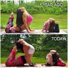 Yoga Ispiration Just keep moving forward!