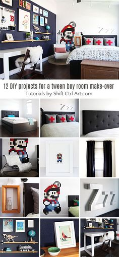 b tween bedroom reveal - 12+ DIY projects in this room