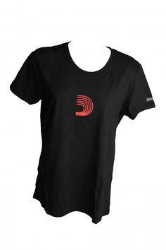 D'Addario, Daddario, Shirt, T-Shirt, Tee, Girlie, Woman, Women, Meinlshop, Merchandise, Modellnummer: DF91W Shirts, Tees, Woman, Mens Tops, Shopping, Fashion, Black Tee Outfit, Woman Shirt, Moda