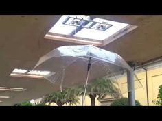 (6) THE SINGING UMBRELLA - water pressure becomes music - YouTube