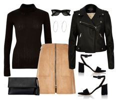 Chic Street Style by stylebyjonathan on Polyvore featuring River Island, Barneys New York, Tory Burch and Ray-Ban