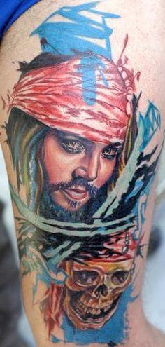 Tatuaje Calavera Johnny Depp 21 best johnny depp tattoo images on pinterest | amazing tattoos