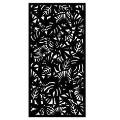 Matrix Rainforest 95 in. Carcoal Recycled Plastic Decorative Screen (Bundle of Privacy Screen Outdoor, Pergola Screens, Decorative Screen Panels, Vinyl Decor, Landscaping Supplies, Backyard Lighting, Shade Structure, Rental Decorating, Decks And Porches