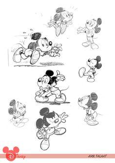 Disney Sketches, Disney Drawings, Cartoon Drawings, Disney Concept Art, Disney Art, Disney Pixar, Cartoon Design, Cartoon Styles, Character Model Sheet