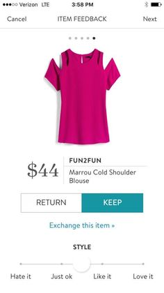 Stitch Fix Fashion 2018! Ask your stylist for something like this in your next fix, delivered right to your door! #sponsored #StitchFix Fun2Fun Marrou cold shoulder blouse