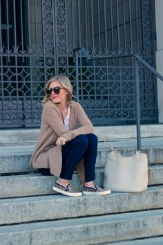 GiGi New York | Ivory Olivia Shopper Tote | Life with Emily Fashion Blog